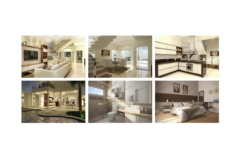 design de interiores 3D